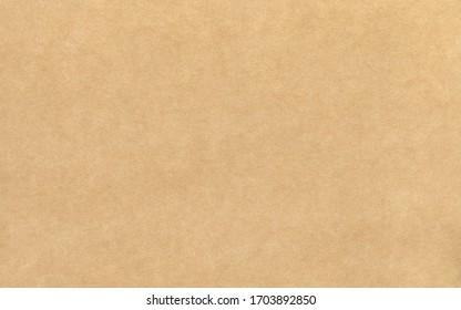 Schönes braunes Papier oder Pappe, breite rechteckige, horizontale Texturvorlage. Umschlag, Scrapbooking, Hintergrund