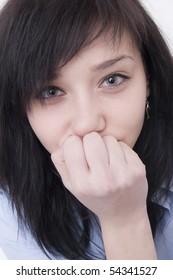 Beautiful Brunette Girl portrait