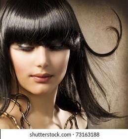 Beautiful Brunette.Egyptian Style