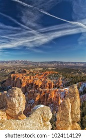 Beautiful Bryce Canyon in the Winter.