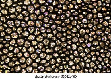 Beautiful Bubble Bokeh Holographic Background