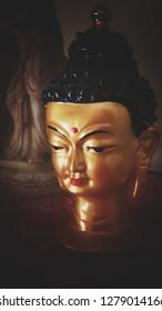 Beautiful Buddha statue.
