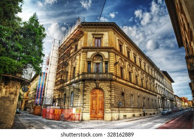 beautiful building in Florence, Italy