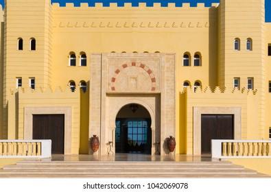 Beautiful building in Houmt Sok/Djerba/Tunisia