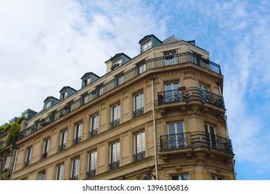 Beautiful building on Paris street corner