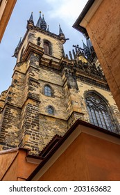 Beautiful buildings in the Old Town of Prague