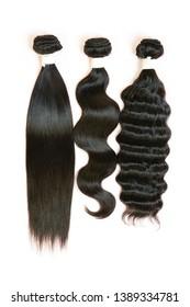 Beautiful bundle hair styles-straight, body wave, deep wave