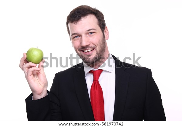 Beautiful business man