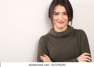 beautiful business woman portrait
