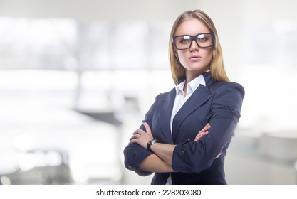 Beautiful business women meet business partners. Business decisions. Office workers. Friendly smiling girl. Beautiful light background