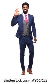Beautiful businessman