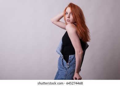 Busty redhead tube what that