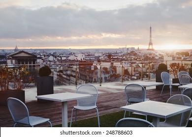 beautiful cafe in Paris