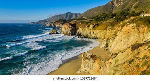 Beautiful California Coast - Big Sur, Monterey County, California - Shutterstock ID 1029712684