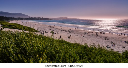 Beautiful California Coast, Carmel Sunset Beach - Carmel by the Sea