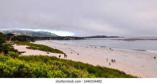 Beautiful California Coast, Carmel Sunset Beach - Carmel by the Sea