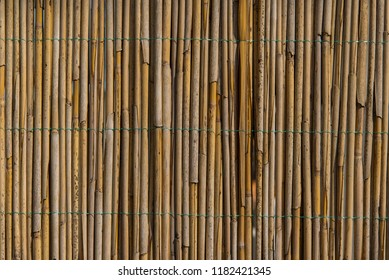Beautiful cane wall texture background