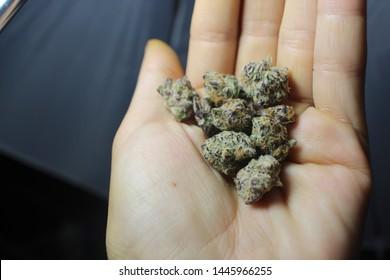 Purple Weed Images, Stock Photos & Vectors | Shutterstock
