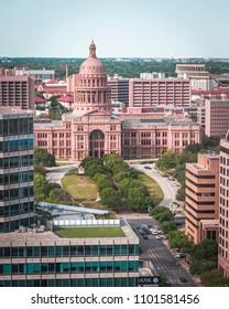 Beautiful Capitol of Texas. Austin 2018.