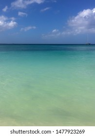 Beautiful Caribbean turquoise Clear water seven mile Beach With 2.1 million cruise ship visitors each year, Grand Cayman is a preferred destination for ocean-going tourists
