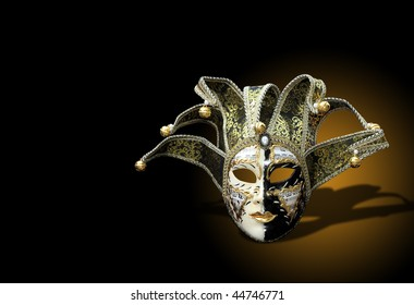 Beautiful carnival mask from venice Italy