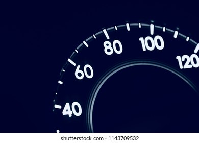 A beautiful cars mileage meter isolated object unique photograph