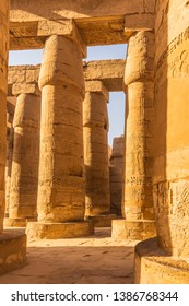 Beautiful carving on the pillars