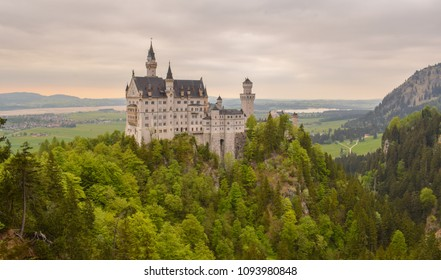 The beautiful Castle in Bavaria, Germany