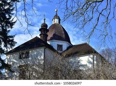 Beautiful castle Buchlov and Barborka in Czech republik,Moravia part of Czech