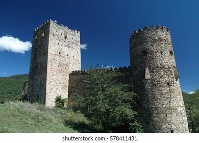 Beautiful castle in Georgia
