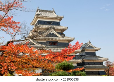 beautiful castle Matsumoto Japan