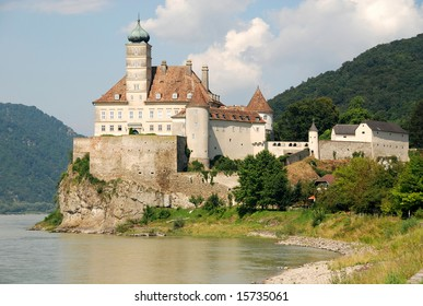 beautiful castle Schonbuhel on the Danube,Austria
