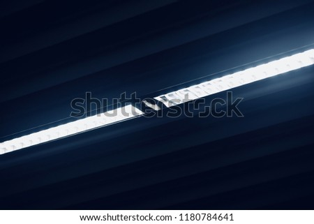 A beautiful ceiling lights of an interior isolated unique photo