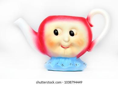 Beautiful ceramic teapot