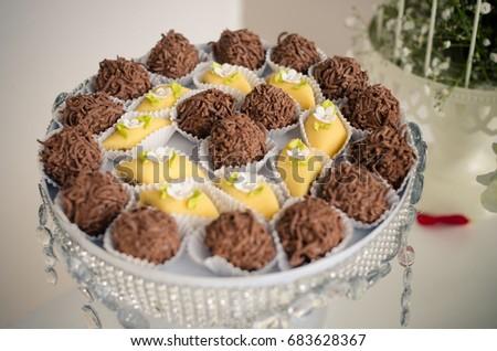 Beautiful Chocolate Truffles Stock Photo Edit Now 683628367
