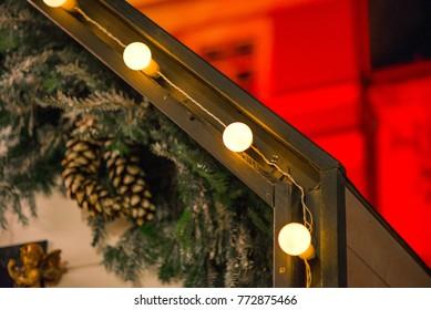 Imagenes Fotos De Stock Y Vectores Sobre Christmas Lights