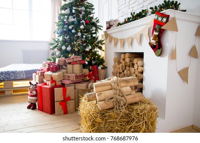 Beautiful christmas interior