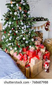Beautiful christmas interior