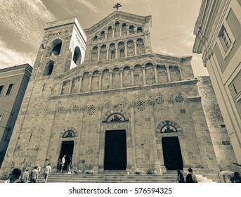 Beautiful church in Cagliari
