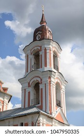 the beautiful Church of Nerekhta in Kostroma region