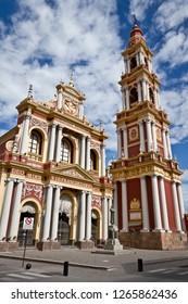 Beautiful church in Salta, Argentina