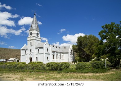 A beautiful church in a small town called Nieu-Bethesda in South Africa