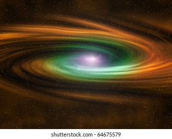 The Beautiful Circular Color of Space