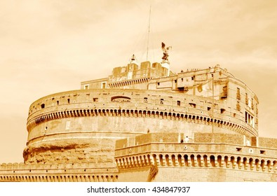 A BEAUTIFUL CITY LANDMARK IN ROME ITALY