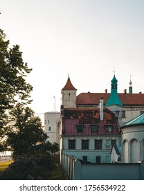 Beautiful city of Rīga in Latvia, lit vivid colour. The amazing streets and buildings make this a tourist dream and it definitely is the pearl of the Baltic states