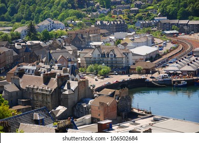 The beautiful city of Oban in Argyll, Scotland, UK