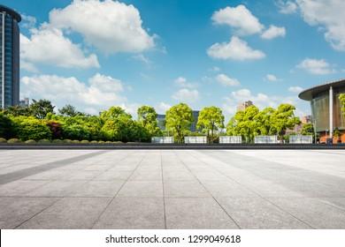 The beautiful city park