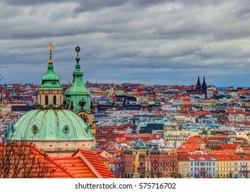 The beautiful city of Prague, Czech Republic.
