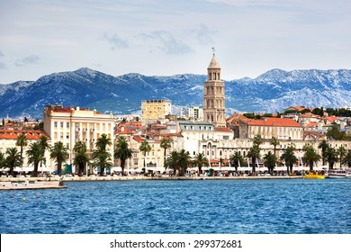 Beautiful city of Split in Croatia
