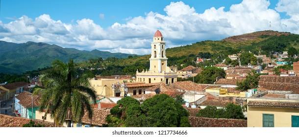 Beautiful City of Trinidad Landscape - Cuba